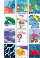 Jeu d'images - La pluie