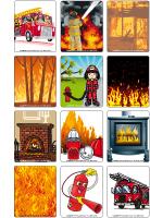 Jeu d'images - Le feu