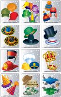 Jeu d'images - Les chapeaux