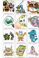Jeu d'images - Les microbes