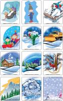 Jeu-d'images - Les pays nordiques