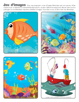 les poissons activit s pour enfants educatout. Black Bedroom Furniture Sets. Home Design Ideas