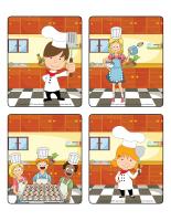 Jeu d'images-Apprentis cuisiniers