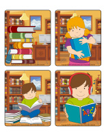Jeu d'images-Bibliothèque-1