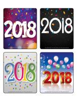 Jeu d'images-Bonne année 2018-1