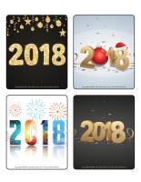 Jeu d'images-Bonne année 2018-2