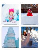 Jeu d'images-Châteaux de neige-1