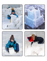 Jeu d'images-Châteaux de neige-2