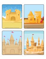Jeu d'images-Châteaux de sable-1
