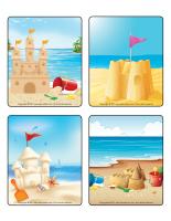 Jeu d'images-Châteaux de sable-2