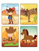 Jeu d'images-Cowboys-2