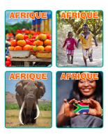 Jeu d'images-Découvrons l'Afrique-2