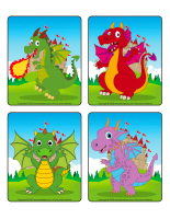 Jeu d'images-Dragons-1