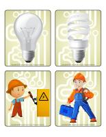 Jeu d'images-Électricité