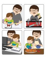 Jeu d'images-Fête des Pères-1