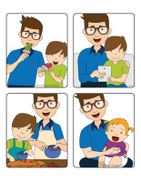 Jeu d'images-Fête des Pères 2019-1