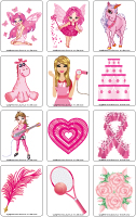 Jeu d'images-Février en rose