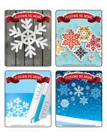Jeu d'images-Flocons de neige-2