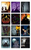 Jeu d'images-Halloween-Dans le noir