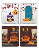 Jeu d'images-Halloween-Les décorations-1