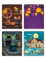 Jeu d'images-Halloween-Les décorations-2