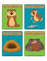 Jeu d'images-Jour de la marmotte-1
