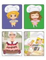 Jeu d'images-La pâtisserie