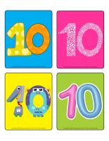 Jeu d'images-Le chiffre 10