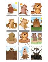 Jeu d'images-Le jour de la marmotte