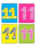 Jeu d'images-Le nombre 11