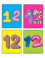 Jeu d'images-Le nombre 12