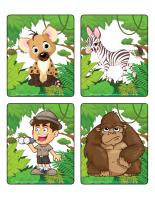 Jeu d'images-Le safari
