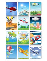 Jeu d'images-Le transport aérien