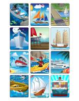 Jeu d'images-Le transport nautique