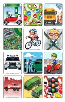 Jeu d'images-Le transport routier