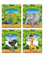 Jeu d'images-Le zoo