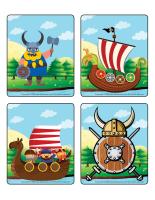 Jeu d'images-Les Vikings