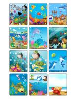 Jeu d'images-Les animaux marins