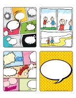 Jeu d'images-Les bandes dessinées