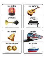 Jeu d'images-Les bruits et les sons-5