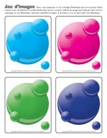 Jeu d'images-Les bulles colorées