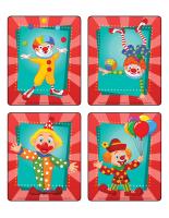 Jeu d'images-Les clowns-2
