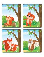 Jeu d'images-Les écureuils-2