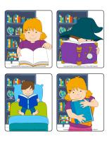 Jeu d'images-Les livres-1