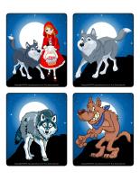 Jeu d'images-Les loups