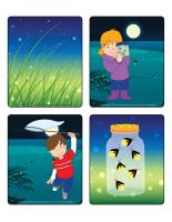 Jeu d'images-Les lucioles
