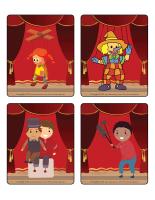 Jeu d'images-Les marionnettes