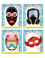Jeu d'images-Les masques