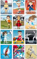 Jeu d'images-Les olympiades d'été