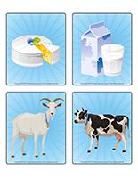 Jeu d'images-Les produits laitiers-2